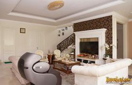rumah nikita willy-ruang keluarga