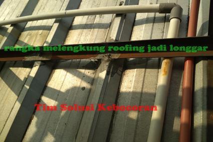 jasa kebocoran atap spandek
